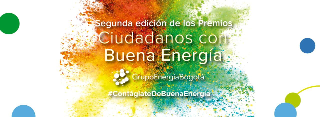 Banner premios ciudadanos con buena energia